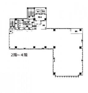 山手新宿ビル平面図