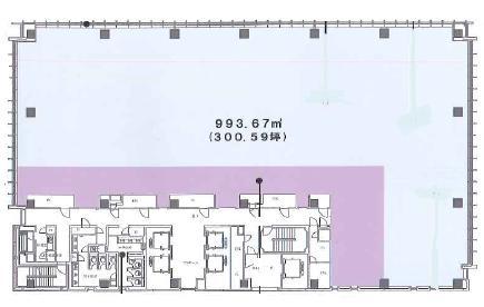 アグリスクエア新宿ビル平面図