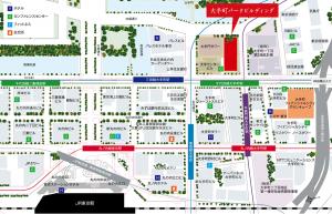 大手町パークビルディング地図