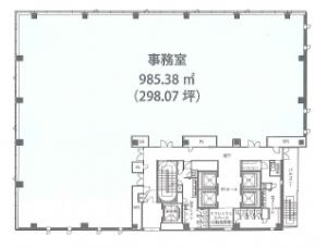 ネクストサイト渋谷ビル平面図