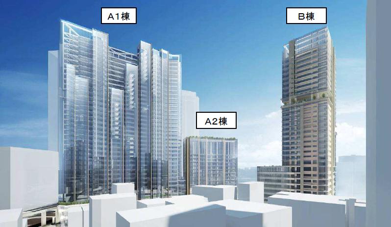 桜丘口地区開発計画