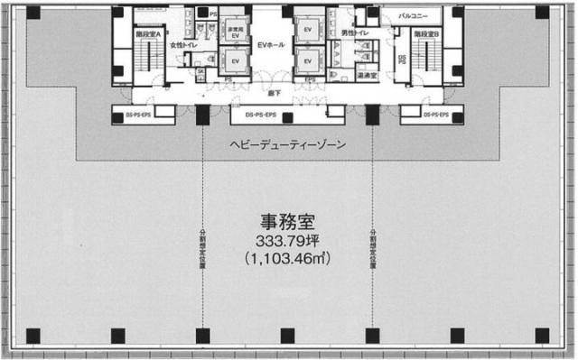 ヒューリック浅草橋平面図