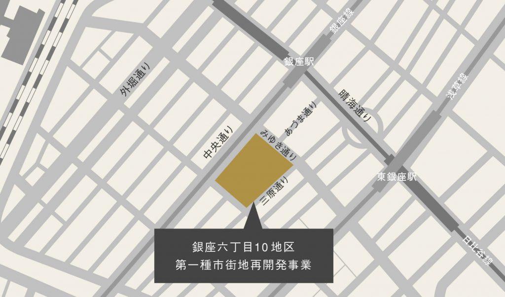 GINZASIX地図