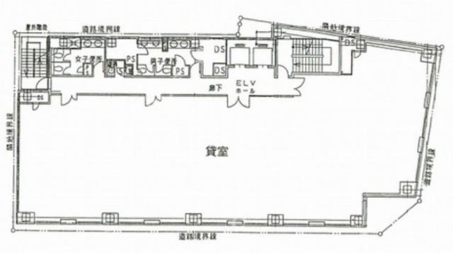 銀座オーミビル平面図