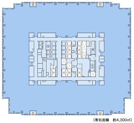 日本橋室町3丁目プロジェクト平面図