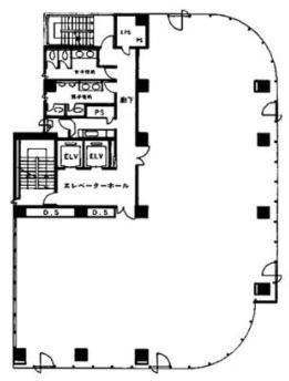新宿171平面図
