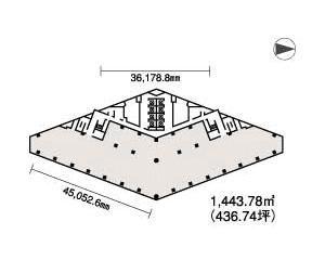 西新宿木村屋平面図