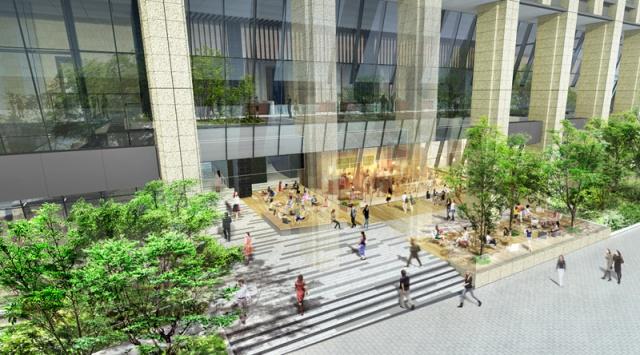 日比谷パークフロント1階カフェテラスイメージ