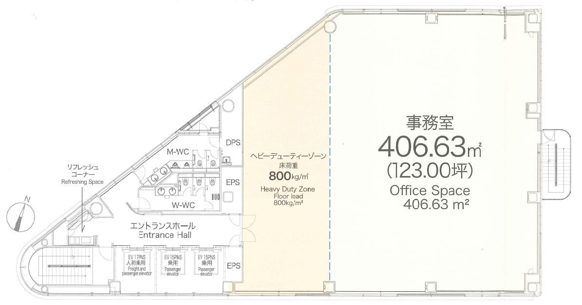 X-PRESS有楽町平面図