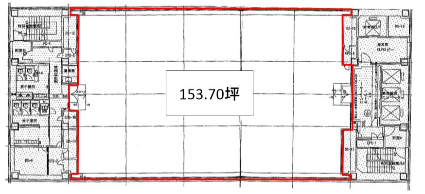 内幸町平和ビル平面図