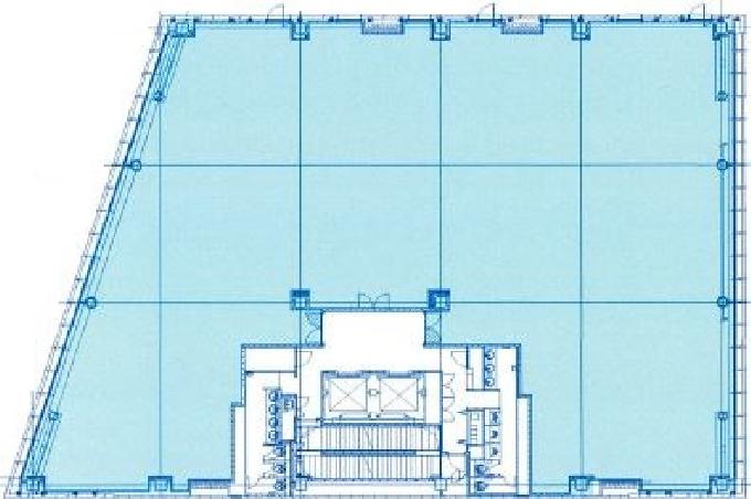 永田町山王森ビル平面図