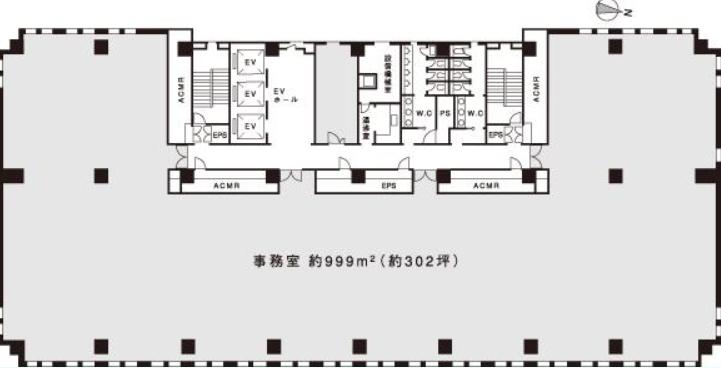笹塚センタービル平面図