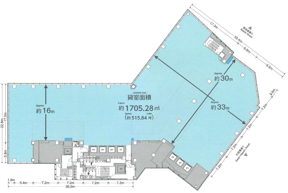 TRI-SEVENトライセブン平面図