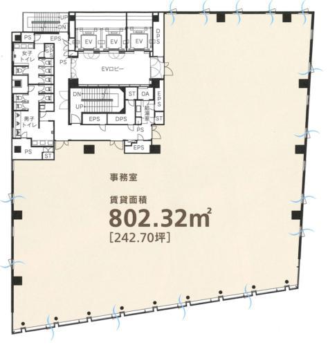 東急四谷ビル平面図