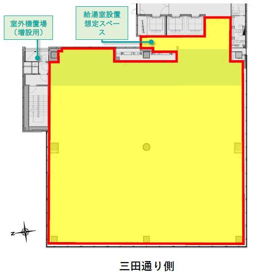 G-BASE田町平面図