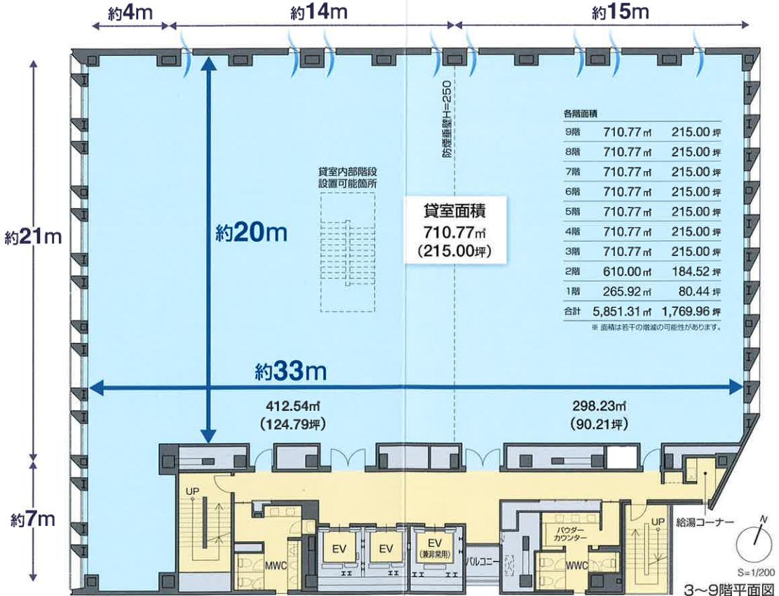 oak神田鍛冶町平面図