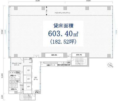 PMO田町東ビル平面図