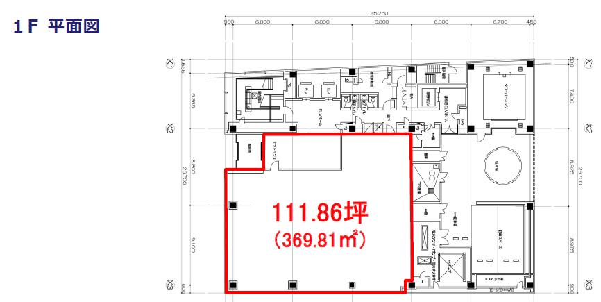 エスエス製薬本社ビル 1F平面図
