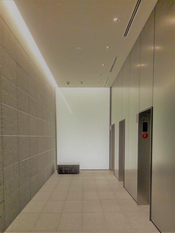 PMO田町東ビルエレベーターホール
