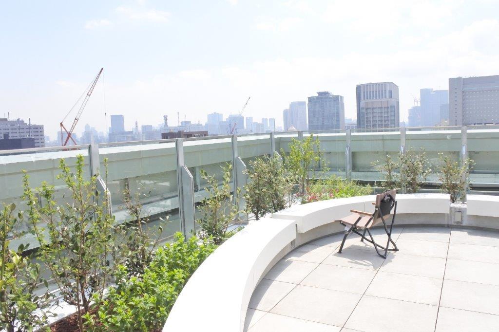 麹町PREX屋上庭園