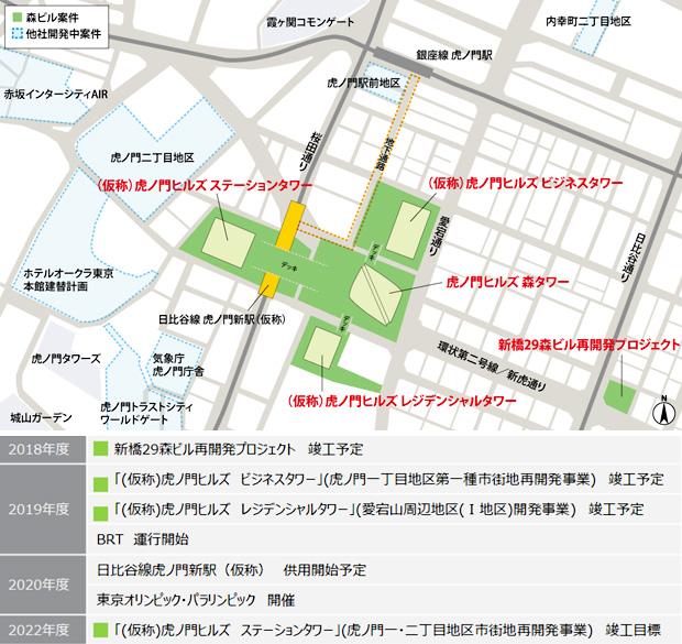 日比谷線新駅周辺地図