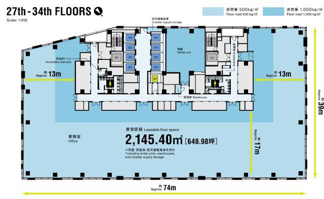 渋谷ストリーム平面図