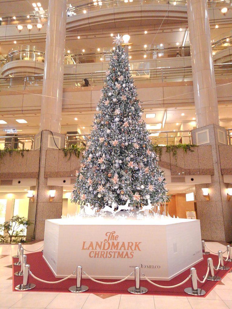 ランドマークタワークリスマス2018