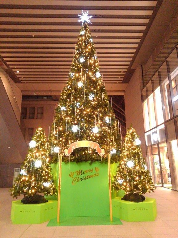明治安田生命ビルクリスマスツリー