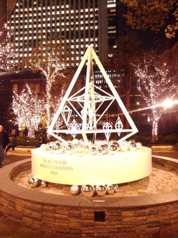 丸の内パークビルディングクリスマスツリー