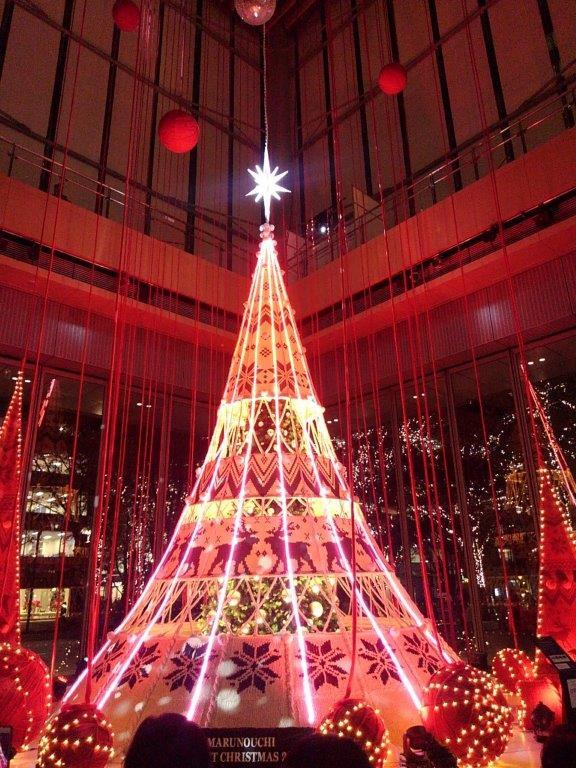 丸ビルクリスマスツリー
