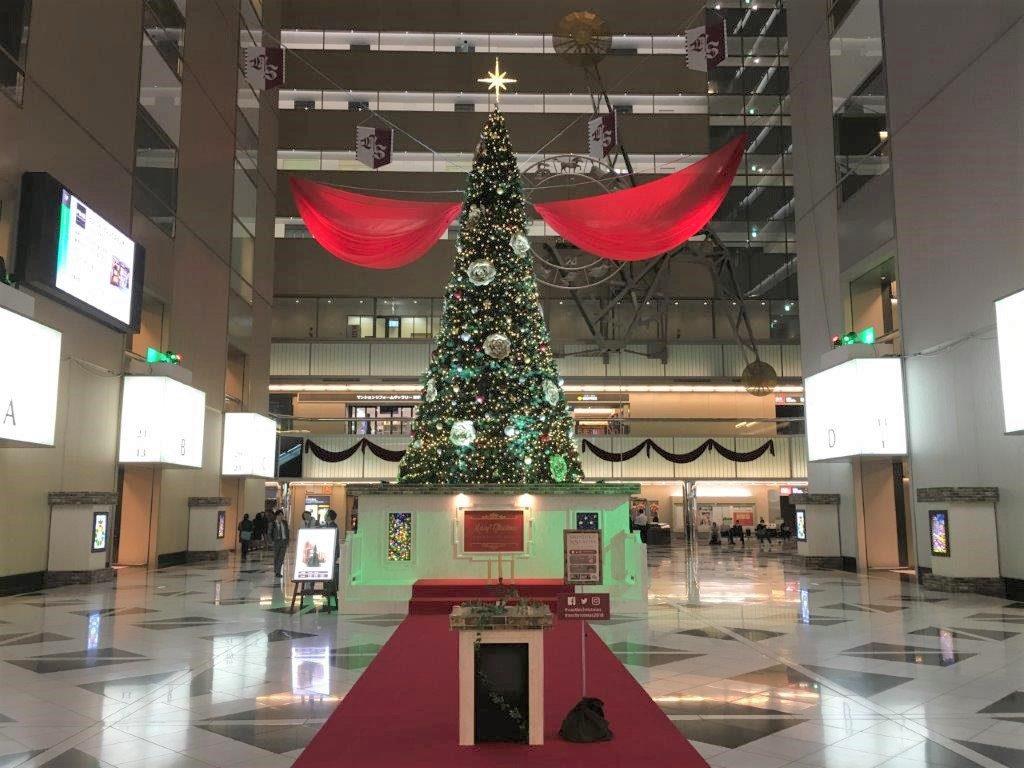 新宿NSビル クリスマスツリー
