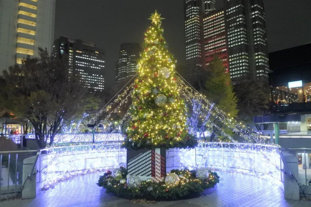 新宿三井ビル クリスマスツリー
